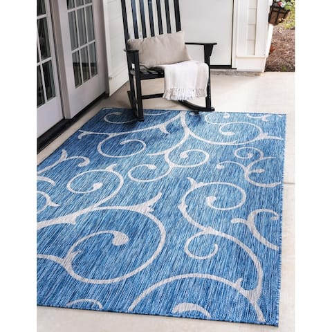 Porch & Den Marion Outdoor Curl Rug