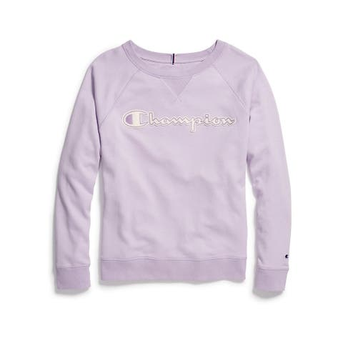 Champion Women's Heritage French Terry Crew
