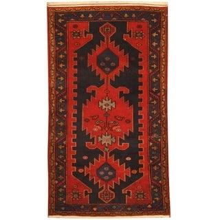 Handmade Hamadan Wool Rug (Iran) - 3'10 x 6'10