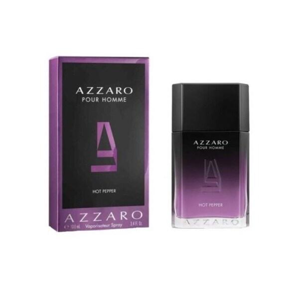 9053756014e Shop Azzaro Pour Homme Hot Pepper Men s 3.4-ounce Eau de Toilette Spray -  Free Shipping On Orders Over  45 - Overstock - 27321916