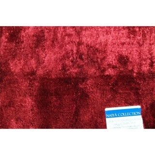 Persian Rugs 17x24  Burgundy bath mat - 17' x 24'
