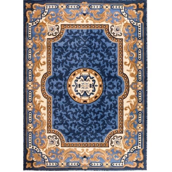 Persian Rugs 2034 Blue Oriental