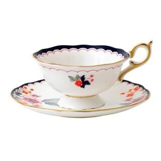Wedgwood Wonderlust Jasmine Bloom Teacup and Saucer Set