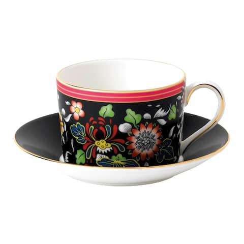 Wedgwood Wonderlust Oriental Jewel Teacup and Saucer Set
