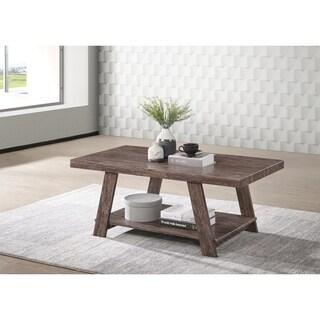 Gustine Open-Shelf Coffee Table - 22W x 43.5L x 18H