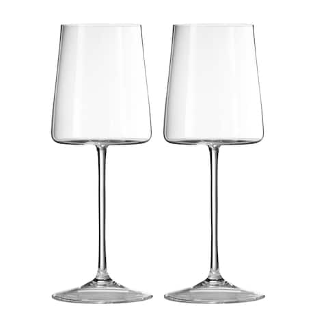 Vera Metropolitan Crystal Wine Glasses (Set of 2)