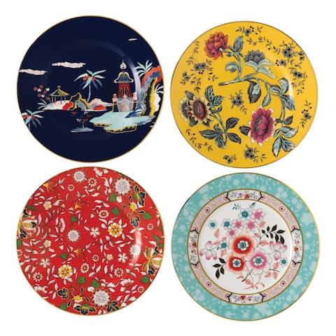 Wedgwood Wonderlust 8-inch Fine Bone China Plates (Set of 4)