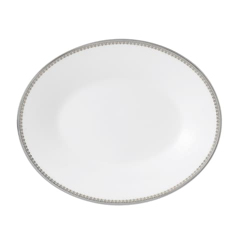 Vera Lace Platinum Fine Bone China Imperial Gravy Stand