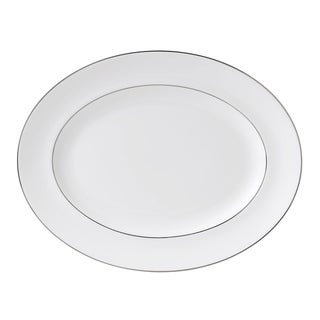 Signet Platinum 13.75-inch Fine Bone China Oval Platter