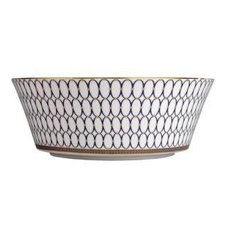 Renaissance Gold 10-inch Fine Bone China Serving Bowl