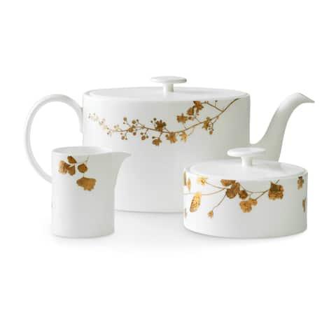 Vera Jardin Gold and Bronze Fine Bone China Beverage Set
