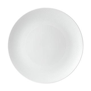Gio White 12.8-inch Fine Bone China Serving Platter