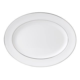 Signet Platinum 15.25-inch Fine Bone China Oval Platter