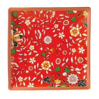 Wedgwood Wonderlust Crimson Jewel Fine Bone China Tray
