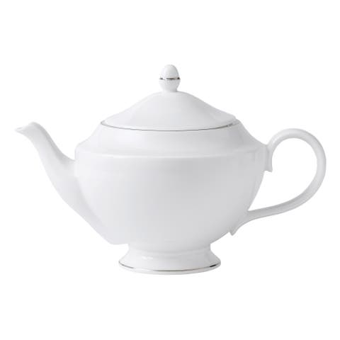Signet Platinum 2.3-pt Fine Bone China Teapot