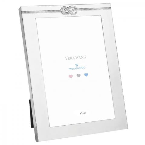 Baby Silver Plated Baby 4x6 Metal Frame