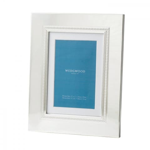 Wedgwood Silver Plated Giftware Simply Wish Frame