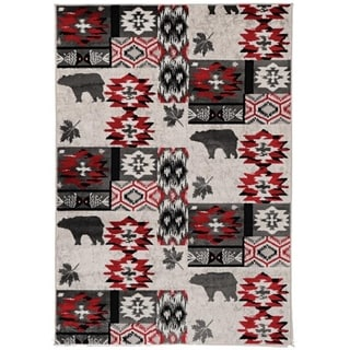 Colorado Rio Grey Area Rug - 2' x 3'
