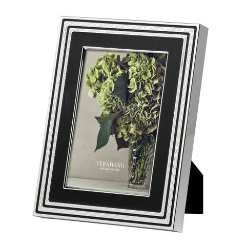 With Love Noir Metal Frame