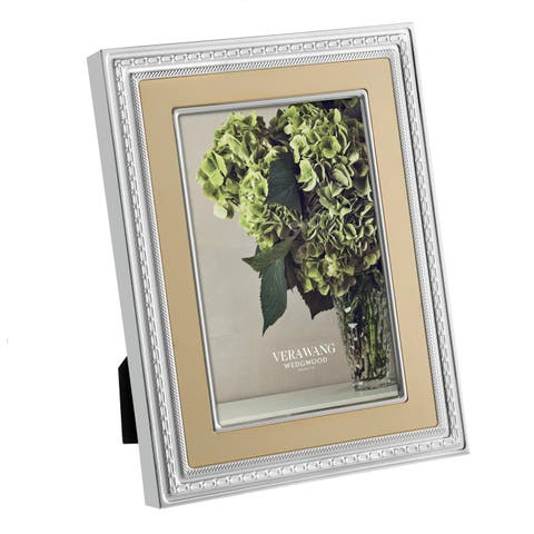 With Love Gold Metal Frame
