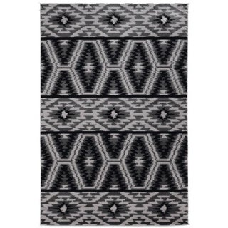 Colorado Mesa Grey Area Rug - 5' x 7'6