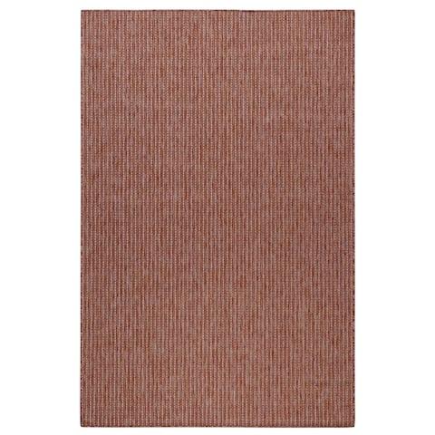 Liora Manne Carmel Texture Stripe Indoor/Outdoor Rug