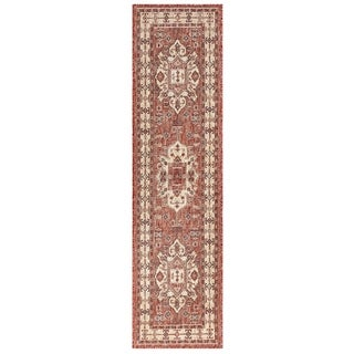Link to Liora Manne Carmel Kilim Indoor/Outdoor Rug Similar Items in Farmhouse Rugs