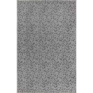 Liora Manne Carmel Animal Print Leopard Indoor/Outdoor Rug Grey