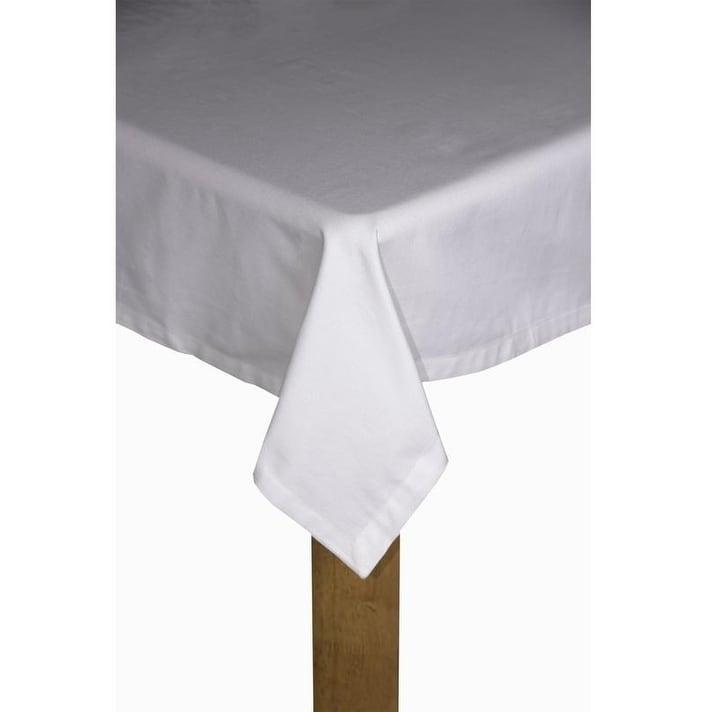 "Black 100/% Yarn Dyed Cotton Buffalo Check Plaid Tablecloth 60x108/"" Rectangle"