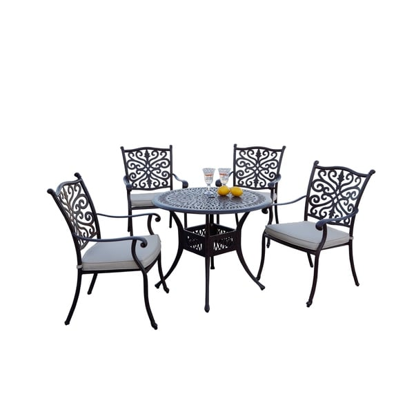 Dining Table Sets On Sale: Shop 5-Piece Patio Dining Set, 36 Inch Round Dining Table