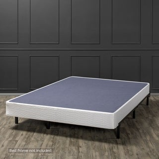 Link to 7-inch Heavy Duty Low Profile Box Spring, White - Crown Comfort Similar Items in Bedroom Furniture
