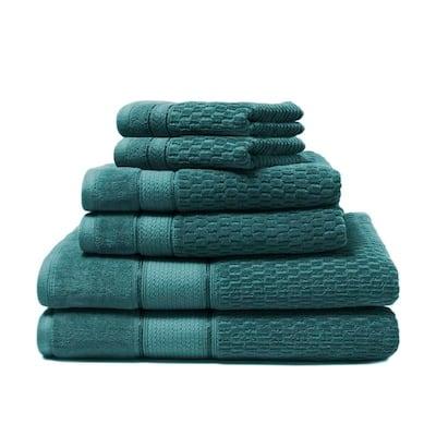 Royale 6-Piece 100-percent Turkish Cotton Bath Towel Set