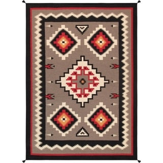 Pasargad Home Kilim Collection Wool Area Rug