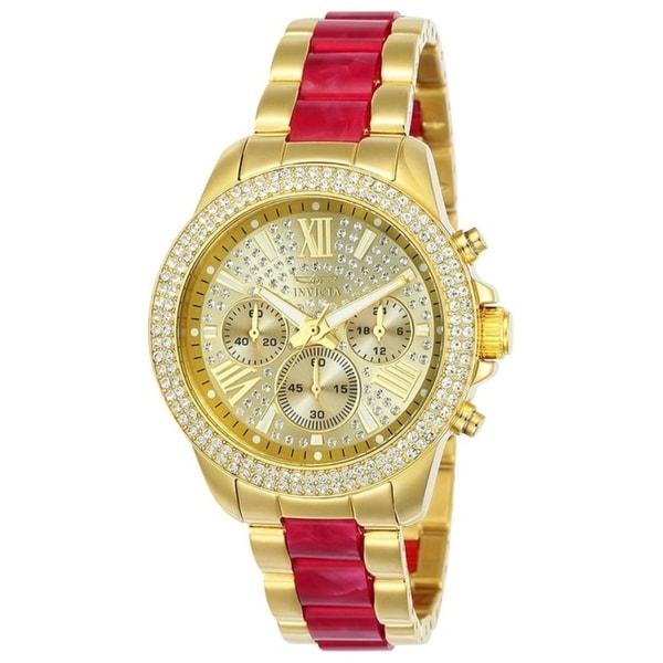Invicta Women's Angel 24126 Gold Watch
