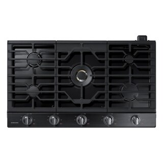 "Samsung 36"" Gas Cooktop with 22K BTU True Dual Power Burner"
