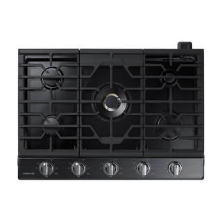 "Samsung 30"" Gas Cooktop with 22K BTU True Dual Power Burner"