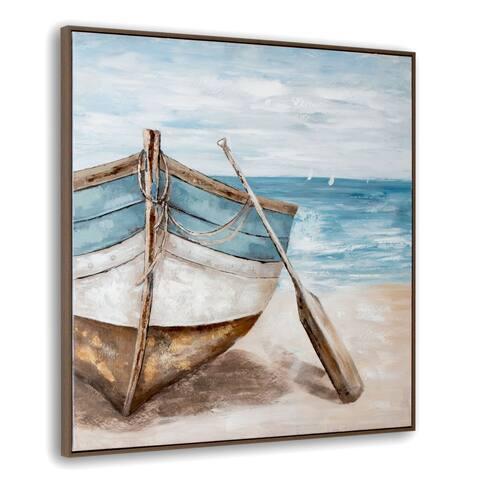 Lakeshore Framed Canvas