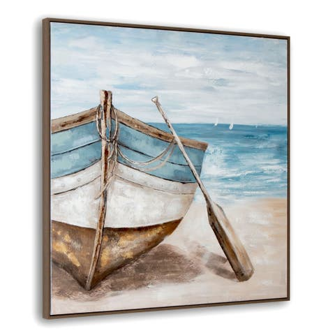 Lakeshore Framed Canvas