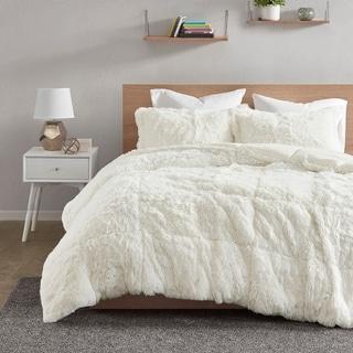 Intelligent Design Leena Shaggy Faux Fur Comforter Set