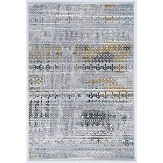 Society Harbin Grey Area Rug - 2' x 3'