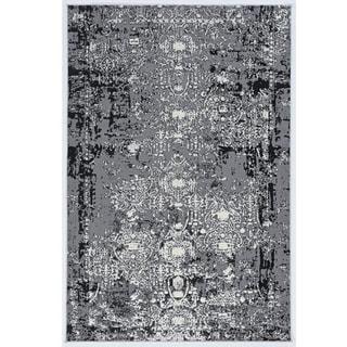 Society Ravi Grey Area Rug - 5' x 7'6
