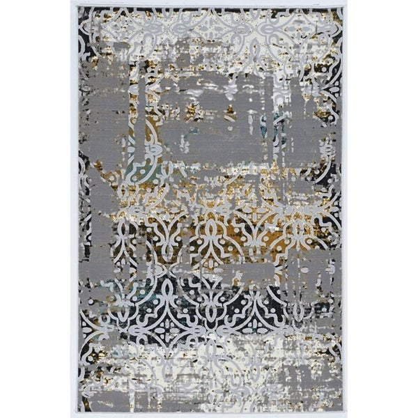 Society Mariah Grey Area Rug - 2' x 3'