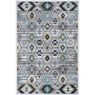 Society Tarro Grey Area Rug - 2' x 3'