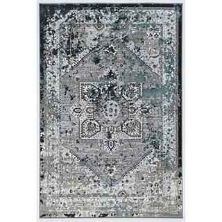 Society Mika Grey Area Rug - 2' x 3'
