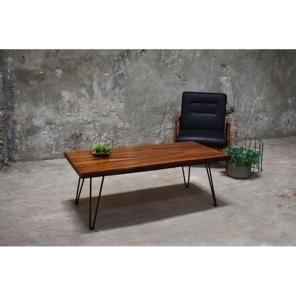 At Home Live Edge Coffee Table: Shop 222 Fifth North Shore Live Edge Coffee Table