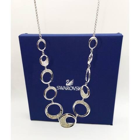 Swarovski Moon Oval Crystal Necklace - 5146154