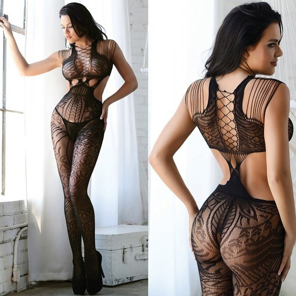 3d0c1db10 Shop Tribal Fishnet Cutout Bodystocking - Free Shipping On Orders ...