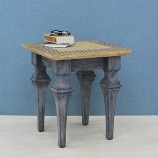 222 Fifth Rue MontMartre Grey Accent Table