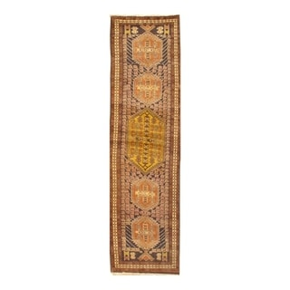 "Pasargad NY Antique Persian Serab Wool Runner Rug - 2'6"" X 10'2"" - 2'6"" X 10'2"""