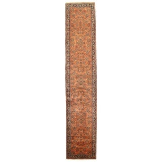 """Pasargad NY Sarouk Design Hand Knotted Runner - 2'5"""" X 12'9"""" - 2'5"""" X 12'9"""""""